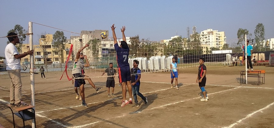 Sports ground Hollyball net