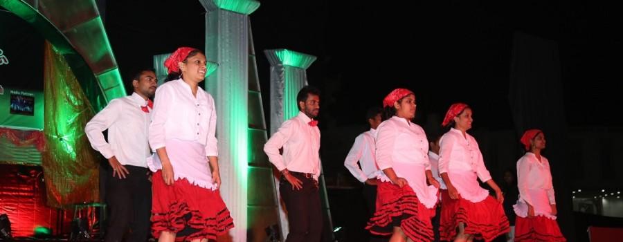 Intercollegiate-Dance Activity.